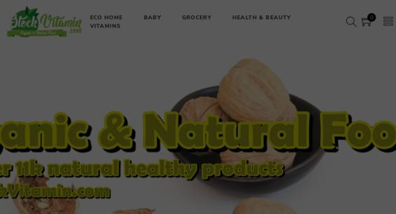StockVitamin com — Starter Site Listed on Flippa: Vitamins