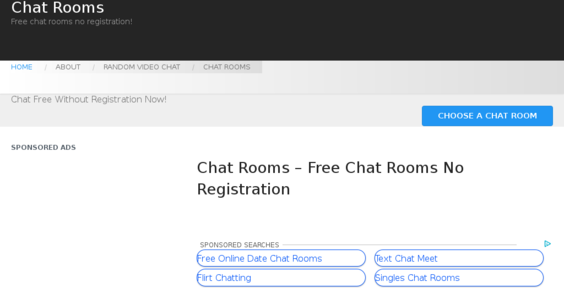 video chat rooms without registration