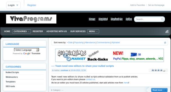 Website regular 2745440