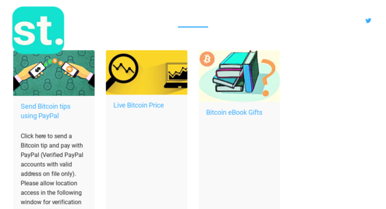 subertip com — Website Listed on Flippa: PayPal - Bitcoin exchange