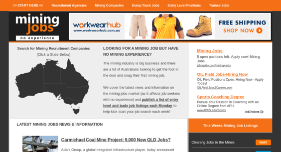 Miningjobsnoexperience website sold on flippa pr 2 mining pr 2 mining job network with 13000 email subscribers 20494 uniquesmo thecheapjerseys Gallery