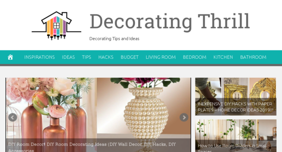 DecoratingThrill.com — Starter Site Listed on Flippa: Fully ...