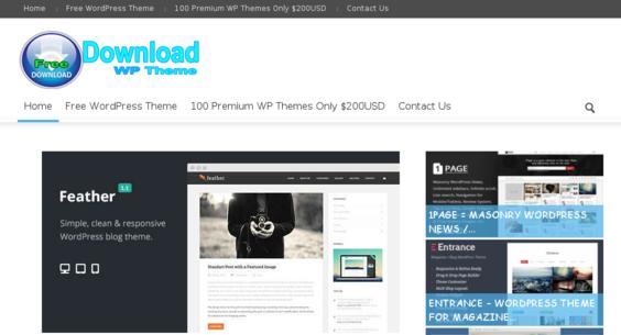 downloadfreewordpresstheme.com — Website Listed on Flippa: WordPress ...