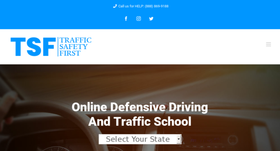 Online Defensive Driving Course Nj >> Trafficsafetyfirst Com Website Sold On Flippa Online