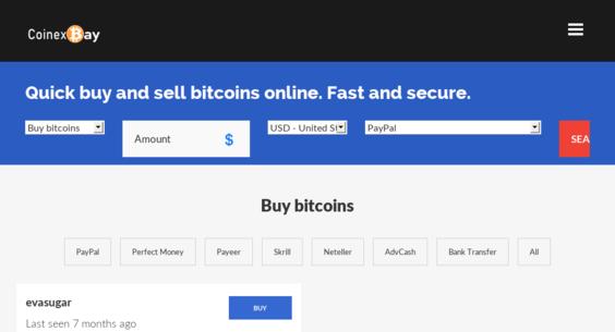 CoinexBay com — Website Listed on Flippa: Peer to Peer