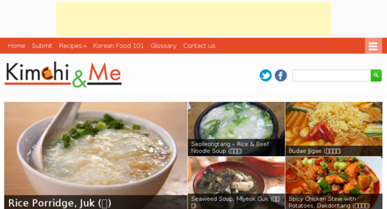 Kimchiandme website listed on flippa korean food recipe blog korean food recipe blog site huge niche market forumfinder Choice Image