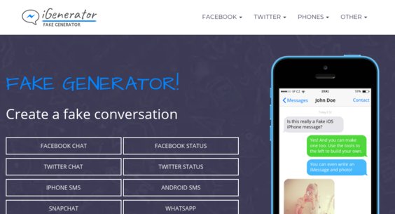 igenerator eu — Website Sold on Flippa: Create a fake conversation