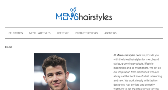 mens-hairstyles.com — Website For Sale on Flippa: High Value ...
