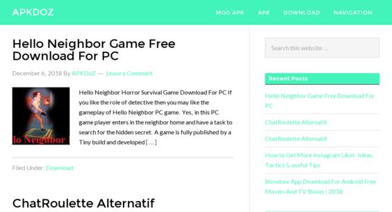 apkdoz com — Website Listed on Flippa: Android APK Niche