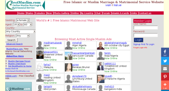 bestmuslim com — Website Listed on Flippa: Very popular Islamic