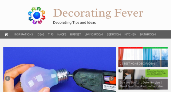 DecoratingFever.com — Starter Site Listed on Flippa: Fully ...
