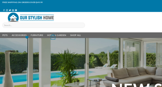 Ourstylishhome Com Starter Site Sold On Flippa Stunning Home