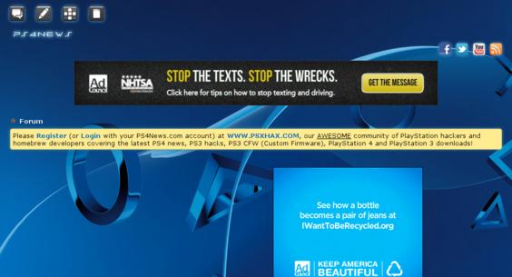 PS4News com — Website Listed on Flippa: PS4News com - Sony