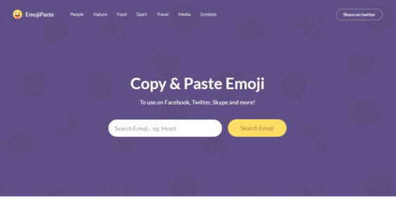 EmojiPaste com — Website Sold on Flippa: Unique Emoji Directory