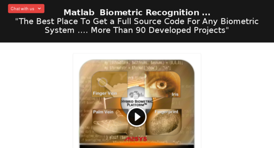 matlab-recognition-code com — Starter Site Listed on Flippa