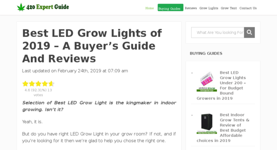 420ExpertGuide com — Website Listed on Flippa: High-growth Amazon