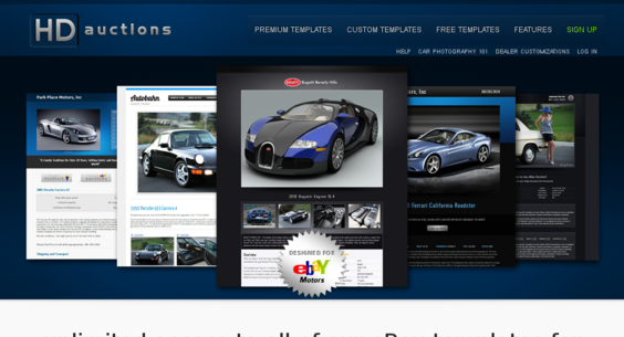 Hdauctions Com Website Listed On Flippa Ebay Template Generator With 226 Uniques Mo Making 811 Mo
