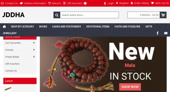 redbuddha co uk — Website Listed on Flippa: Ethnic and