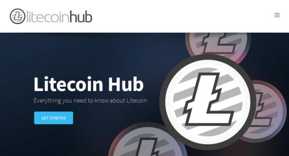 litecoinhub net — Starter Site Listed on Flippa: Litecoin Business