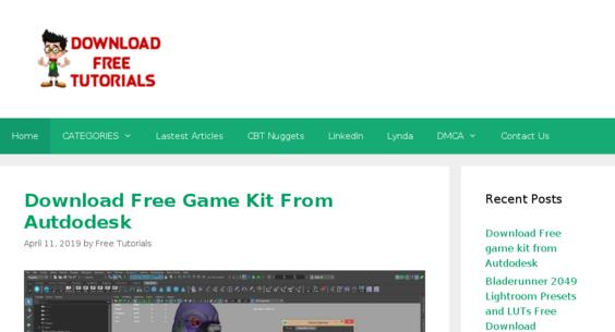 downloadfreetutorials net — Website Sold on Flippa: Free Tutorials