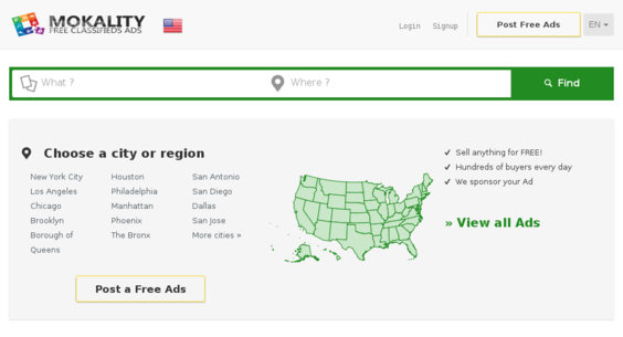 mokality com — Starter Site Sold on Flippa: Mokality Global