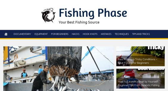 FishingPhase com — Starter Site For Sale on Flippa: Fully