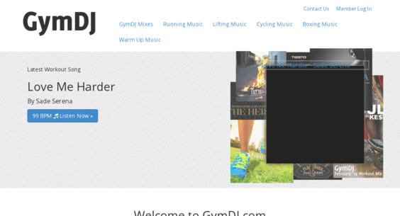 gymdj com — Website Sold on Flippa: Workout music blog with 20,000+