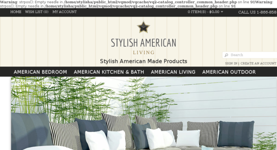 home decor catalogs list stylishamericanliving com     website sold on flippa american made  american made