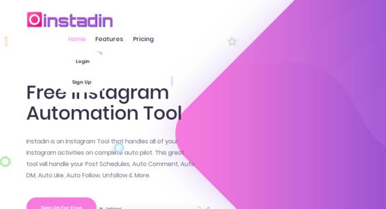 Instadin com — Starter Site Listed on Flippa: Auto Post, Schedule