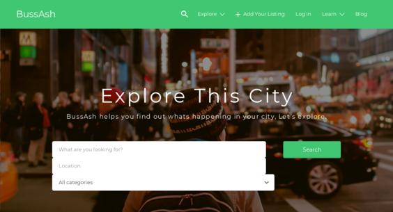 bussash com — Website Sold on Flippa: Turnkey Bussines Directory
