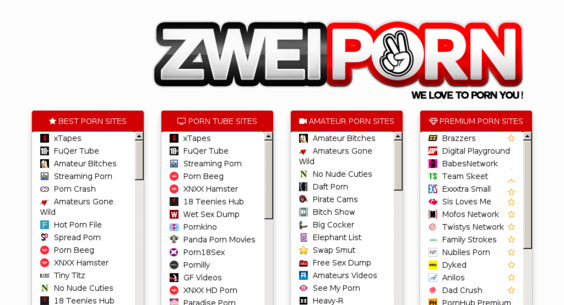 zweiporn.com — Website Sold on Flippa: Shows the best xxx websites