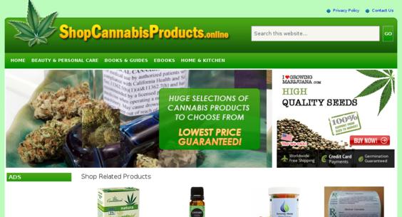 ShopCannabisProducts.online