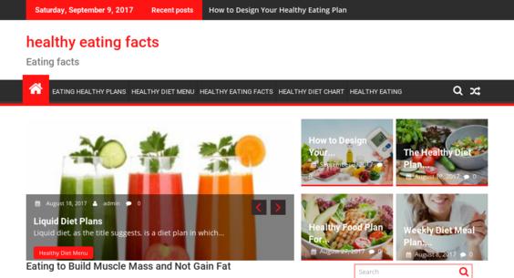 HealthyEatingFacts.Org