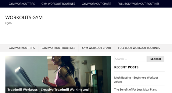 WorkoutsGym.Org