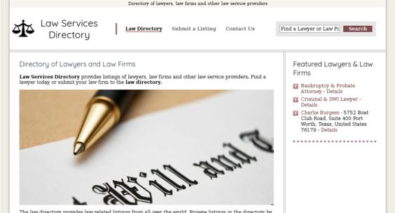 lawservicesdirectory.com