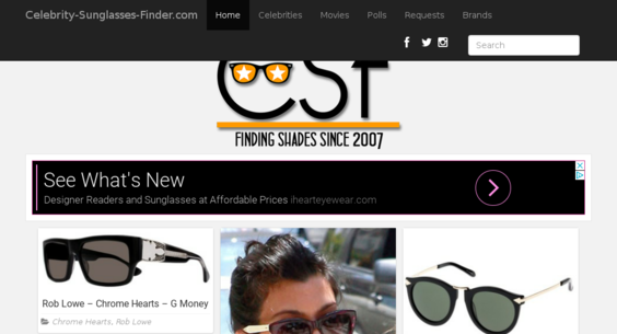 6efe134413cd Potential Gold Mine - 10 yr old TOP sunglasses site, needs TLC to rise  again.