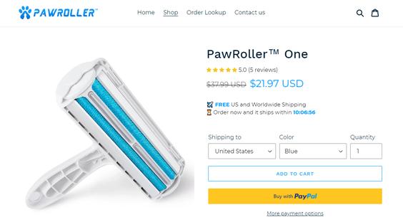 PawRoller com — Starter Site Sold on Flippa: BRANDED