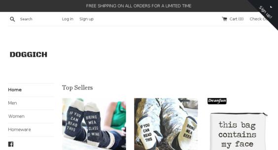 doggich com — Starter Site Sold on Flippa: Doggich com