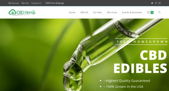 CBDHempArea com — Starter Site Sold on Flippa: Legal CBD & Hemp Oil