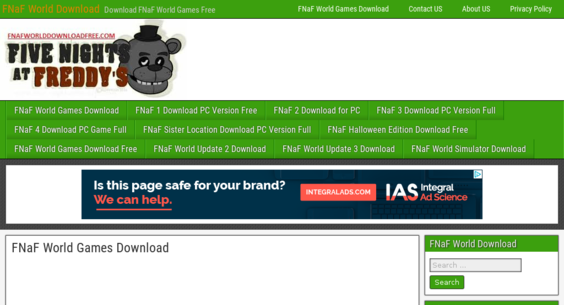 fnafworlddownloadfree com — Website Listed on Flippa: fnaf