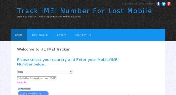 Imei Tracker