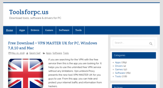 toolsforpc us — Website Listed on Flippa: Android Apps Site