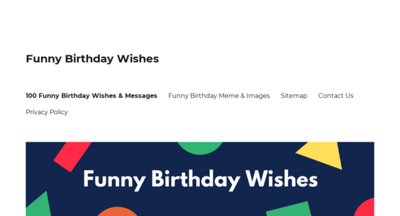 Funny Birthday Wishes Website Sold On Flippa Aged Domain W