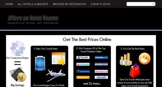 OffersonHotelRooms com — Starter Site Sold on Flippa