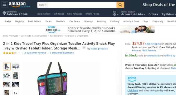 amazon com — Website Listed on Flippa: e-Commerce / Entertainment