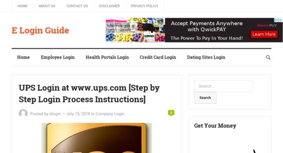 eLoginGuide Com — Website Listed on Flippa: Adsense Website